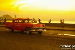 Zachód słońca na Maleconie. Havana