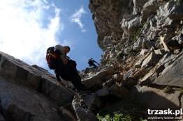 Climbing on Mount Olympus, Greece