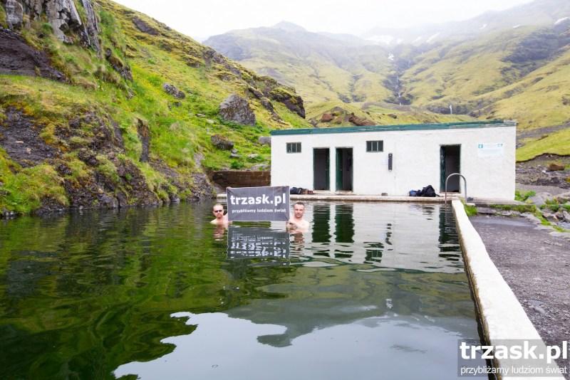 Basen Seljavallalaug Islandia