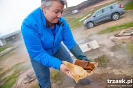 Chleb gejzerowy wypiekany przez Kolę