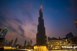 Burj Khalifa. Póki co najwyższy budynek na świecie. Ale szejkowie na pewno nie powiedzieli jeszcze ostatniego słowa