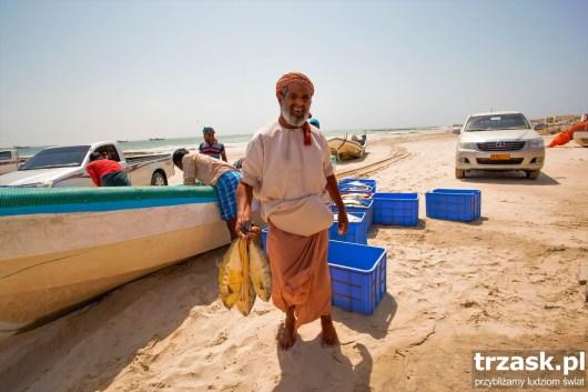 The fishing village, Al Khaluf.