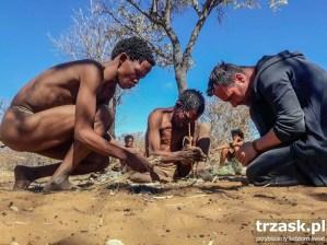 Wioska Buszmenów Namibia 2