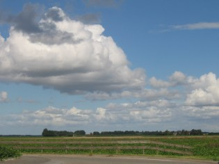 Clouds above Dronten