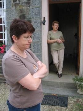 Mireille és az anyukája