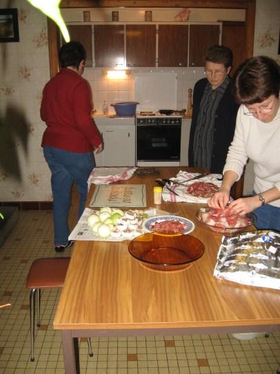 Preparation - Filles