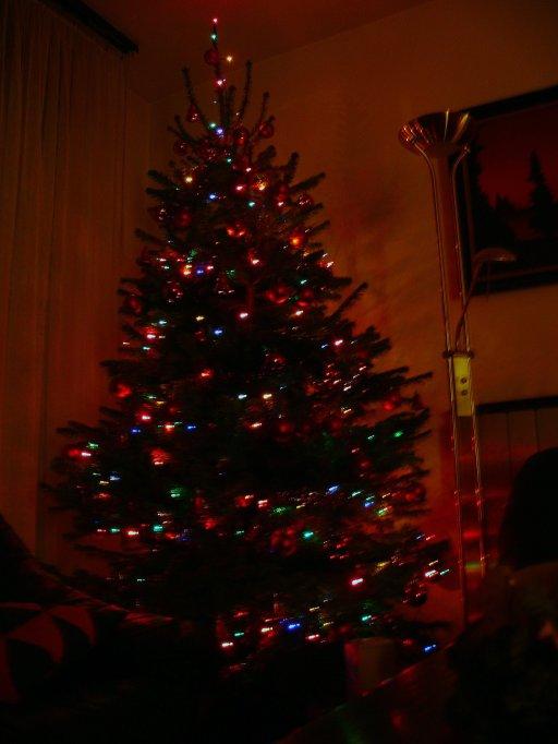 Jaj de szép a karácsonyfa!