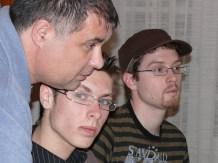 Jean Michel, Alex et Jeremy