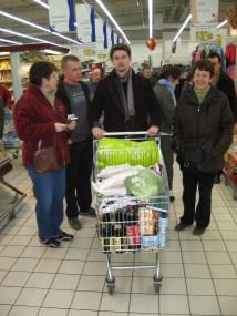 Le shopping pour le Reveillon