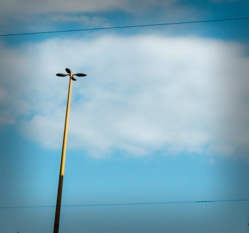 Kék ég munkába menet