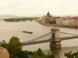 Budapest panoráma