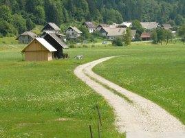 Szlovénia kis falu