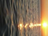 A nyaralás utolsó naplementéje Izolában