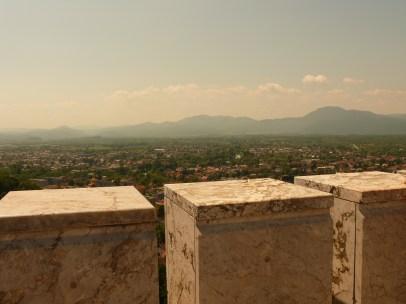 Ljubljana hegyei - kilátás a várból
