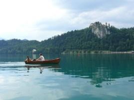 Vár és a csónakázók