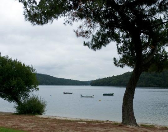Le lac Guerledan