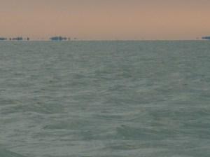 Délibáb a vizen