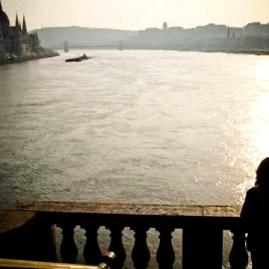 Parlament a Margit hídról nézve