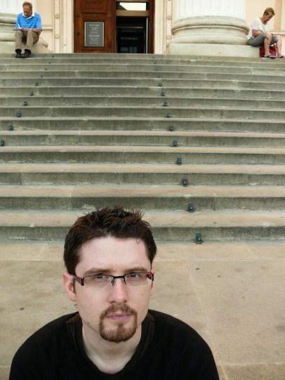 Jeremy - a Nemzeti műzeum előtt