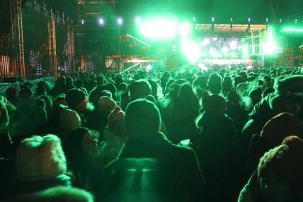 Igloofest közönség / Audience d'Igloofest