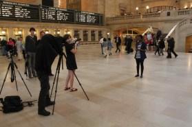 Fotózás a Grand Central Terminálban / Photo session au Grand Central Terminal