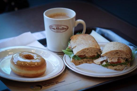 Tim Hortons - Ebéd - Dejeuner