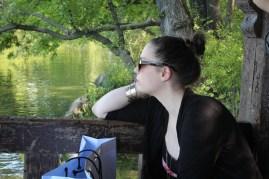 Ági - The Lake - Central Park