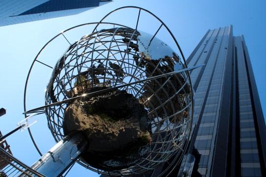 Globe Sculpture Trump Hotel New York City