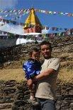 Kaji et son plus jeune fils Dawa