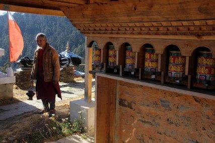 Les moulins à prières extérieurs