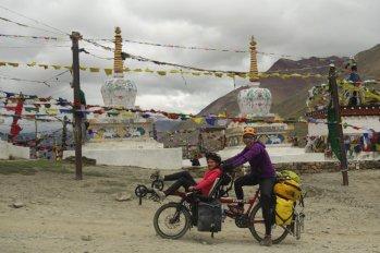 Stupas du Kun Zum La (4550 m)