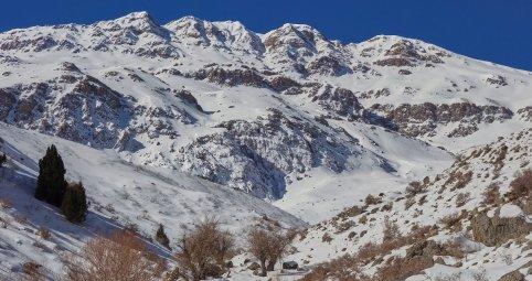 Les sommets alpins du Qalam ouest (3550 m)
