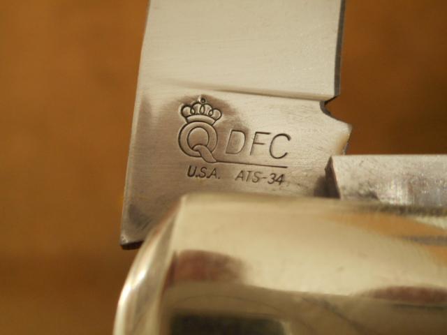 Blade Steel Tang Stamp