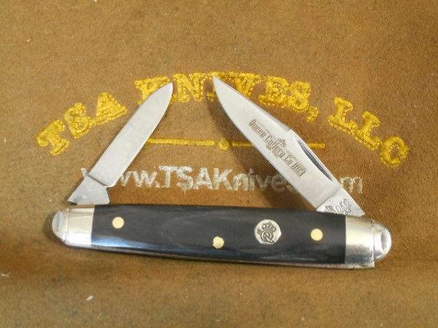 Queen Cutlery #03 Sleeveboard Feathered Buffalo Horn