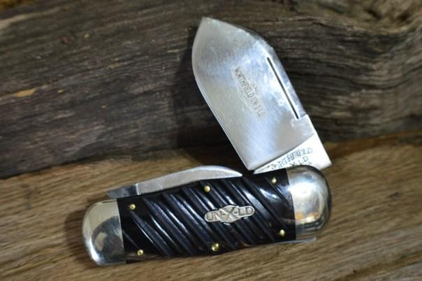 46 Whaler Spiral Cut Buffalo Horn