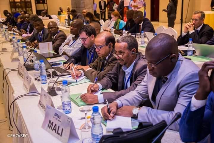 Biendi MAGANGA MOUSSAVOU ouvre les travaux de la 26e session de la CASA à Libreville