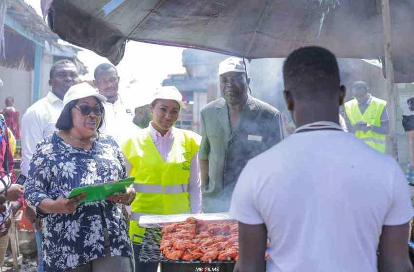 La mairie d'Owendo aux côtés de L'AGASA pour lutter contre l'insécurité alimentaire.