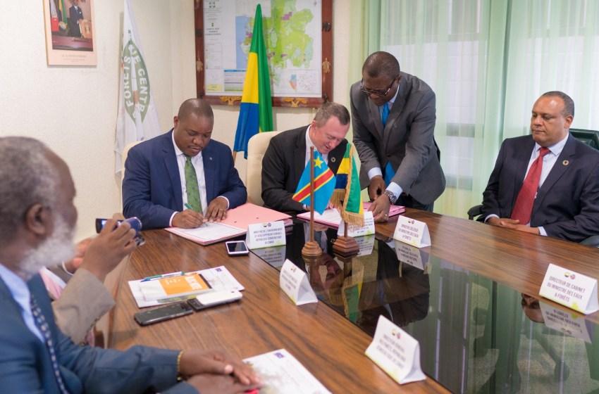 Signature d'un mémorandum d'entente Gabon-RDC