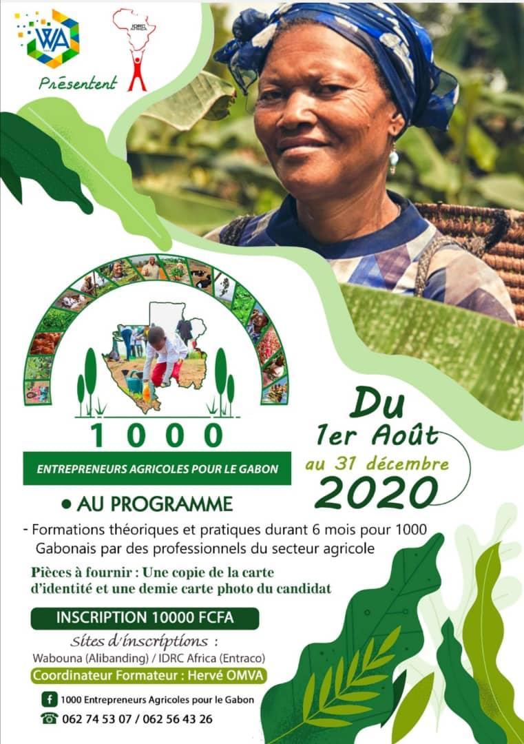 Gabon: Un programme de formation pour 1000 entrepreneurs agricoles
