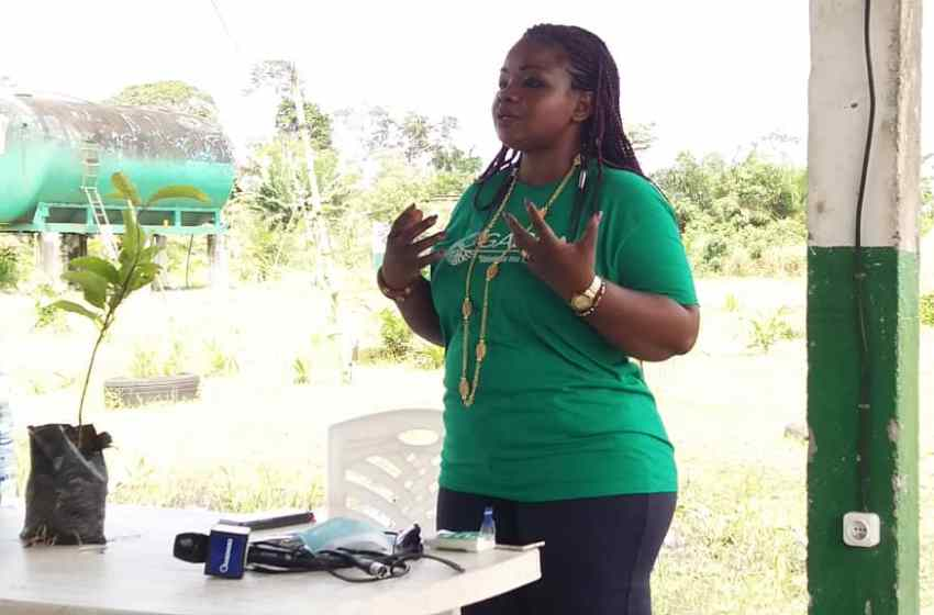 "Gabon/Agriculture: ""On ne mange pas la semence"", Christine SORO."