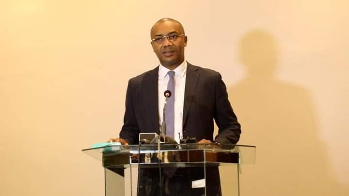 Guy Patrick Obiang Ndong, ministre gabonais de la santé