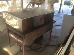 Reducing apple juice into apple syrup at The Apple Farm in Philo, CA