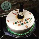 """""""Frohes neues Jahr""""-Torte 2016 (Wunderkuchen)"""