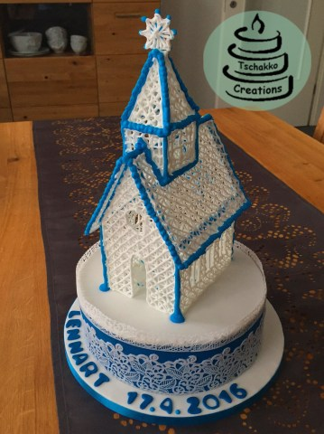 Making of Icing Kirche 9