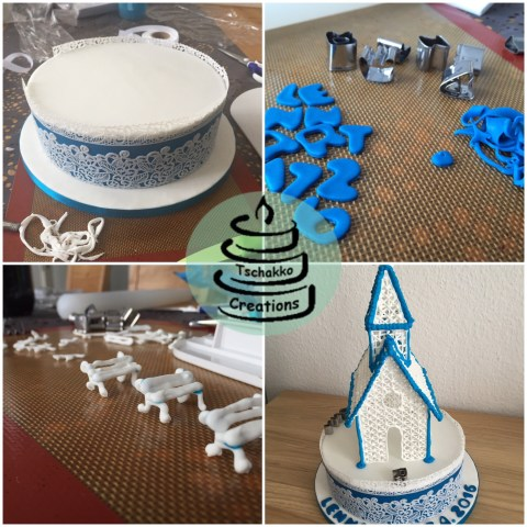 Making of Icing Kirche 6a