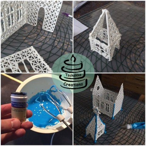 Making of Icing Kirche 3