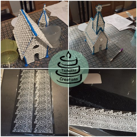 Making of Icing Kirche 4