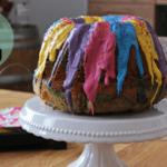 Farbenfroher Quark-Napfkuchen