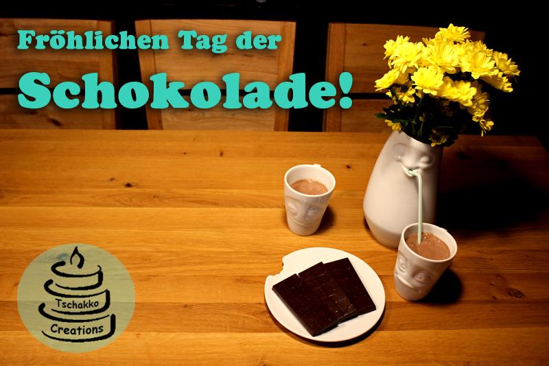 Fröhlichen Tag der Schokolade