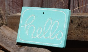 Sign, Hello